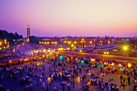 Viagem de Casablanca a Marrakech